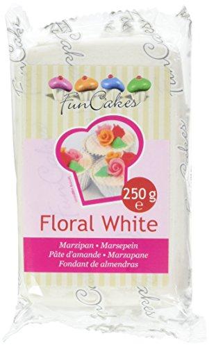 Funcakes Pte D'amande Floral Blanc 250 G