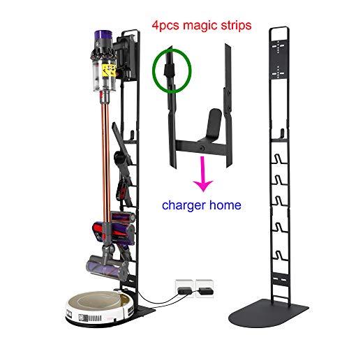 YILONG Dreame Media Xiaogou Vacuum Stand Vacuum Storage Vacuum Rack Vacuum Bracket (Black)