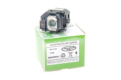 Alda PQ-Premium, Beamerlampe / Ersatzlampe für EPSON EB-W8D, POWERLITE Presenter, H335A Projektoren, Lampe mit Gehäuse