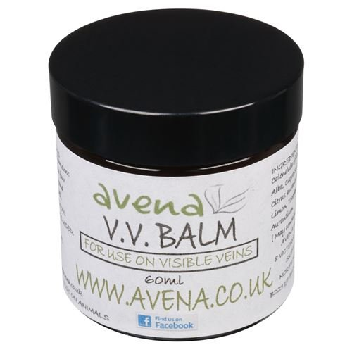VV Calendula Balm - traitement naturel des veines apparentes - Pot en plastique de 200 ml