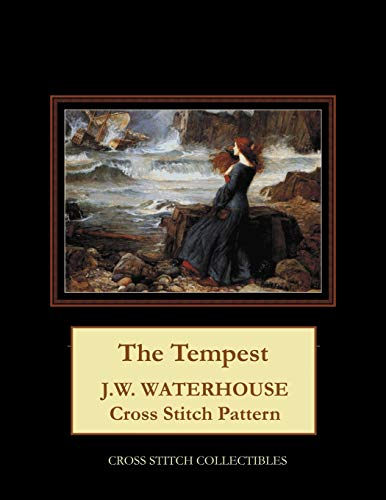 The Tempest: J.W. Waterhouse cross stitch pattern