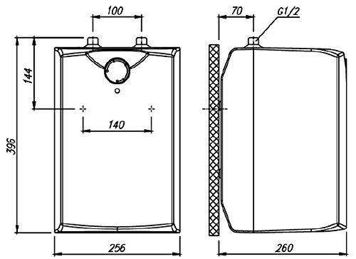 Gorenje GT 5 U 5L Warmwasserspeicher druckfest, untertisch - 2