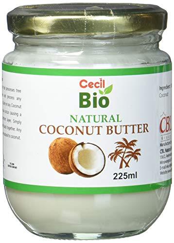 Cecil Bio - Leche de coco natural, 225 ml (pack de 6)