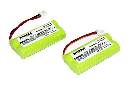 INTENSILO 2X NiMH batería 800mAh (2.4V) para teléfono Fijo inalámbrico Siemens Gigaset AL110, AL110 Duo, AL110 Trio, AL110a y V30145-K1310-X359.
