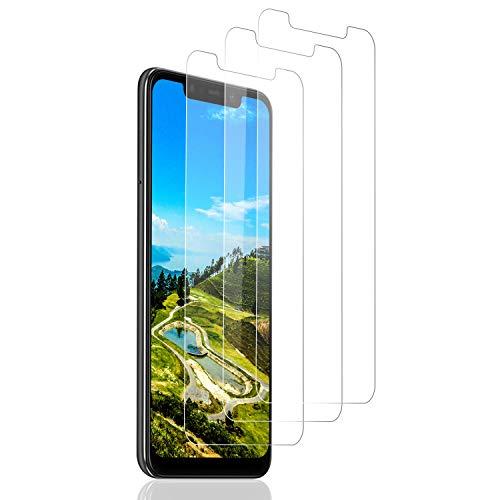 SNUNGPHIR 3 Piezas Protector de Pantalla para Xiaomi Pocophone F1, [Compatible con Carcasa][9H Dureza] [Sin Burbujas] [Anti-Arañazos] Cristal Templado Premium para Xiaomi Pocophone F1