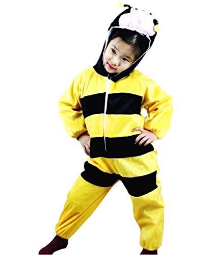 Lovelegis (Talla s) Disfraz de Abeja para niño y niña 2/3 años - Disfraz - Carnaval - apina - Halloween - Unisex - Cosplay