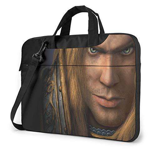 Hdadwy World Warcraft Laptop Sleeve Laptop Bag Tablet Briefcase Ultraportable Protective Handbag Oxford Cloth-for MacBook Pro/MacBook Air/Notebook Computer 13inch