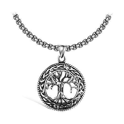 Emma Gioielli - Collar para Mujer Hombre Unisex Cadena 60 cm en Acero
