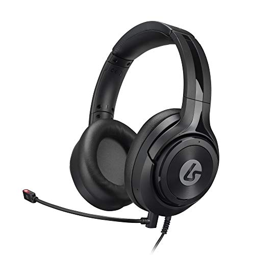 LucidSound LS10N Wired Stereo Gaming Headset with Mic, PlayStation, PS5, PS4, PS3, Xbox One S, Xbox 360, PC, Mac, VR, Android, and iOS - Black