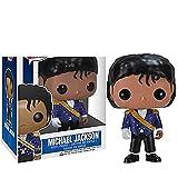 Anime Pop Michael Jackson & Dangerous # 26 Figurine PVC Figuras De Acción-Decoración De Escritorio para El Hogar, Pop Shaking Head Figura 10Cm