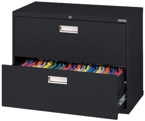 Sandusky 600 Lateral File Steel 2 Drawer Cabinet