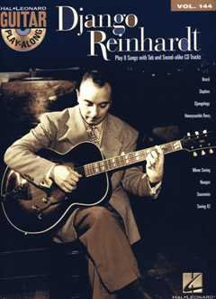 GUITAR PLAY ALONG - arrangiert für Gitarre - mit Tabulator - mit CD [Noten / Sheetmusic] Komponist: REINHARDT DJANGO aus der Reihe: Guitar play along 144