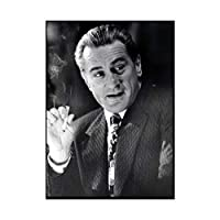 Ipea ロバートデニーロゴッドファーザー俳優映画プリント絵画ポスタープリントキャンバスウォールアート写真ホームルームの装飾(19.69X27.56インチ)50X70Cmフレームなし