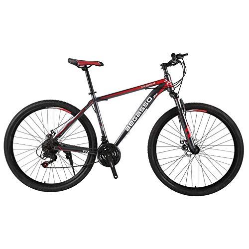 TRGCJGH Freno A Doppio Disco da Mountain Bike da Uomo A 21 velocità 29 Pollici Bici da Città per Tutti I Terreni Solo per Adulti Ciclismo Esterno Sospensione Anteriore A Coda Dura,A