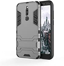 Half-wrapped Cases - 3D Armor Case for Meizu M6T Meilan Meizu 6T M811H M811Q for Meizu m6 note M6s S6 M5c M5 c Phone Back cover Case Capa Coque Etui> (GTX GY for Meizu M6)