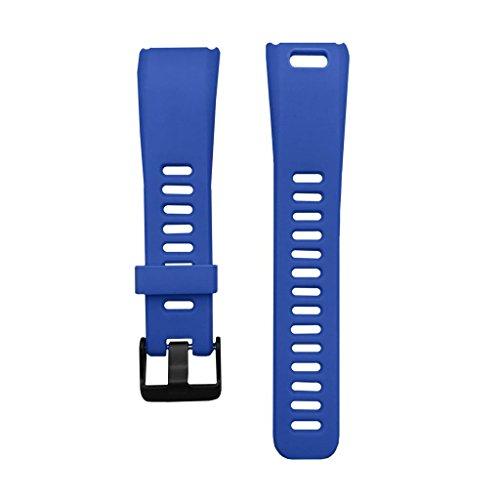 B Blesiya Correa de Plástico Ajustable para Reloj de Pulsera de 17 Mm para - Elija Colores - Azul