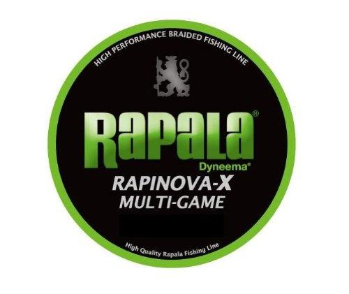 Rapala(ラパラ) PEライン ラピノヴァX マルチゲーム 150m 2.0号 32.8lb 4本編み ライムグリーン RLX150M20LG