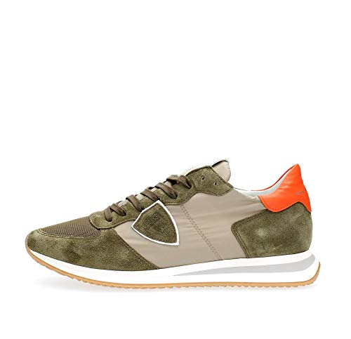 PHILIPPE MODEL PARIS TZLU W032 Tropez X Sneakers Herren Militare 41