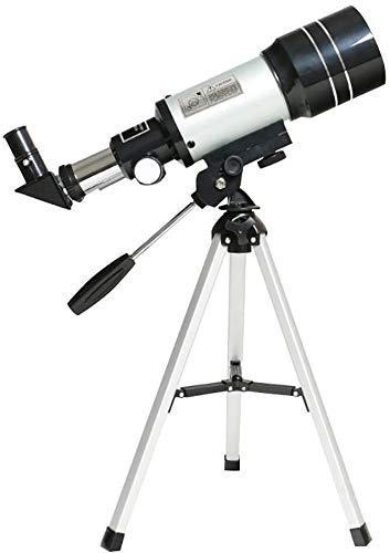 Telescopios for astronomía compacto, telescopio refractor for Niños Adultos astronomía Beginners- con trípode + Zenith + Espejo + Ocular Telescopio Filtro-Ideal for principiantes BBGSFDC