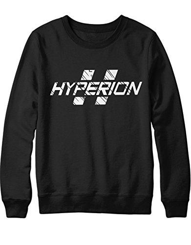 Sweatshirt Hyperion C112240 Schwarz M