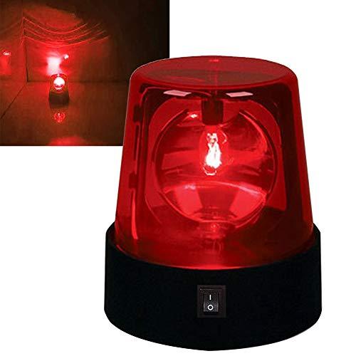 Rotating Flashing Light, 3inch 360 Degree LED Strobe Light, Battery Powered...