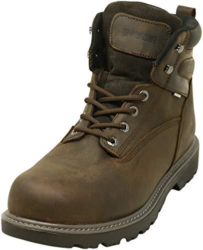 Compare price of Wolverine Floorhand Waterproof Steel-Toe 6 inches Men's Work Boot