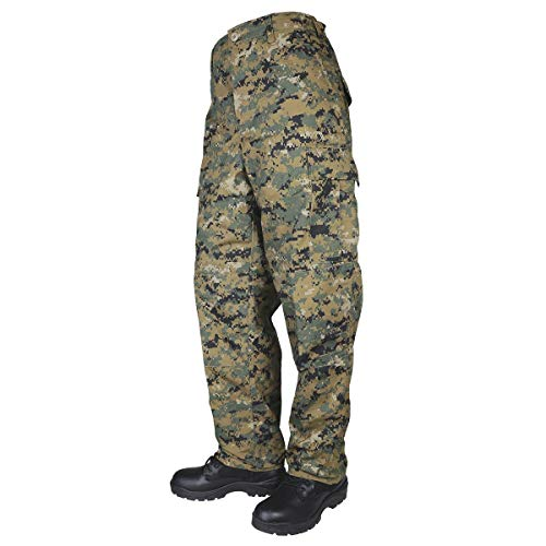 Tru-Spec BDU Pants Digital Woodland Long Rip-Stop