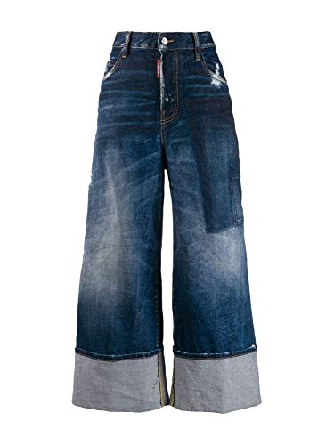 Luxury Fashion | Dsquared2 Dames S75LB0255S30663470 Donkerblauw Katoen Jeans | Lente-zomer 20
