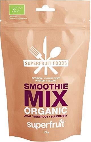 Superfruit Foods Smoothie Mix - Açaí Rote Beete Blaubeeren, 100 G