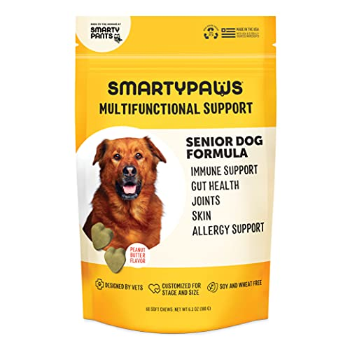 Top 10 best selling list for good supplements for senior dogs