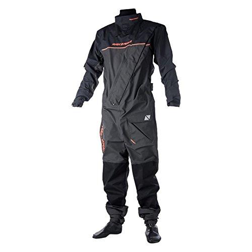 Magic Marine Regatta Front-Zip Drysuit 2017 - Grey S