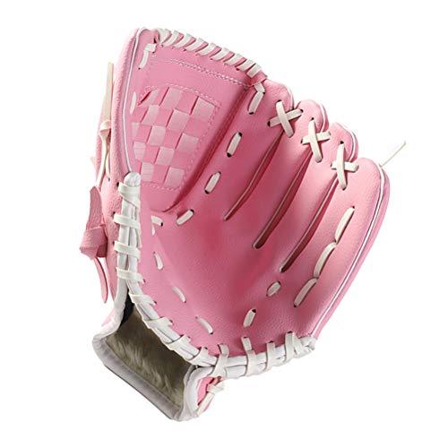 LIOOBO Verdicken Sie Infield Pitcher Baseball Handschuhe Softball Handschuhe Full Adult Sports Infielder's Glove Brown 10.5