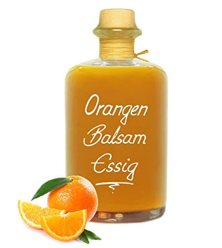 Orangen Balsam Essig 68% Fruchtanteil 0,5L intensive Fruchtnote sehr mild 5%Säure