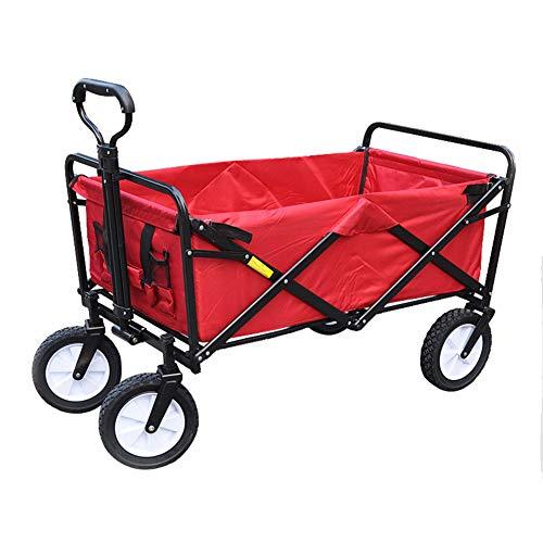 HGFDSA Picnic Al Aire Libre,Camping,Supermercado,Supermercado,Compras,Extracción De Productos,Empuje Manual, Carrito De Compras, Carro...