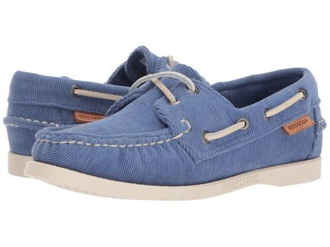 以前は処分したホイッスルSebago(セバゴ) レディース 女性用 シューズ 靴 ボートシューズ Docksides - Blue Corduroy 9.5 M [並行輸入品]