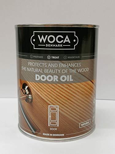 Woca Wooden Door Oil 1 Litre (Natural)