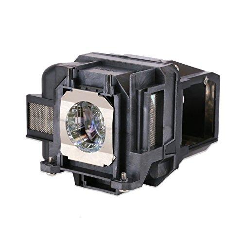 Loutoc V13h010l78 Lampadina di ricambio per Epson Elplp78 EB-S03 EH-TW5100 EH-TW5200 EH-TW570 Proiettore, con custodia