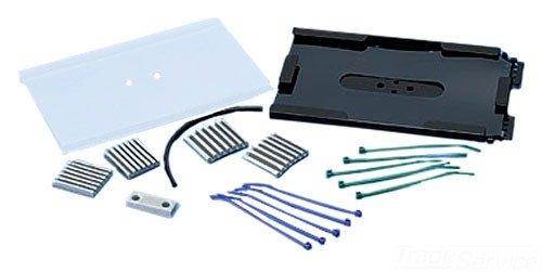 Panduit FST6 12 Fiber Splice Tray Kit, Black