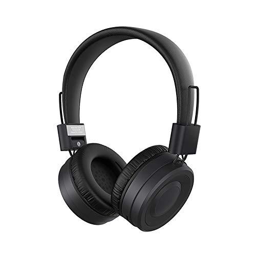 BIGFOX Cuffie Bluetooth per TV,Cuffie Stereo Pieghevole ad Alta fedeltà,Cuffie Wireless Riduzione del Rumore Microfono CVC6.0 Cuffie Over Ear 3,5 mm LED per PC/Nintendo Switch/Mac/Laptop