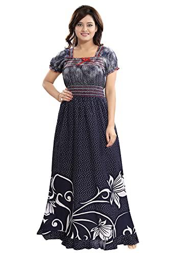Inner Beats Women's Cotton Nightwear (Multicolour, Free Size)