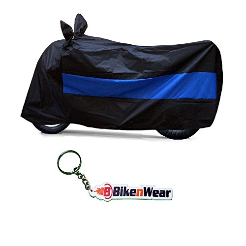 Bikenwear Water Proof Black-Blue Body Cover For Royal Enfield Classic 350Cc