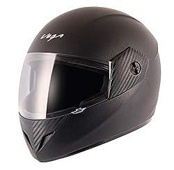 Vega Cliff CLF-LK-M Black Full Face Helmet