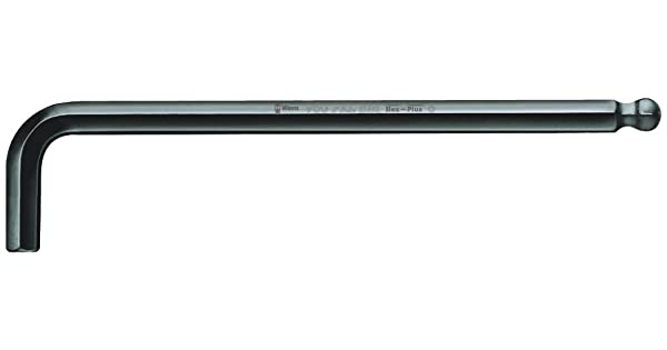BlackLaser Ballpoint Hex Key 2.5mm x 112mm L-key Wera Tools 05027103001 Wera Hexagon 950 PKL BM L-key