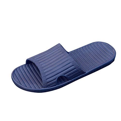 Dusch-& Badeschuhe für Unisex-Erwachsene/Skxinn Badeschlappen Badelatschen Strandschuhe Freizeitschuhe Marine, Blau, Grau, Größe 40-44 Ausverkauf(Marine,44 EU)