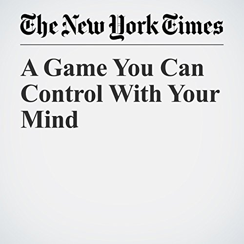 A Game You Can Control With Your Mind copertina