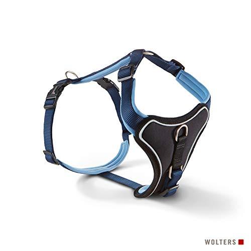 Wolters | Geschirr Professional Comfort in Marine/Hellblau | Brustumfang 45 - 50 cm