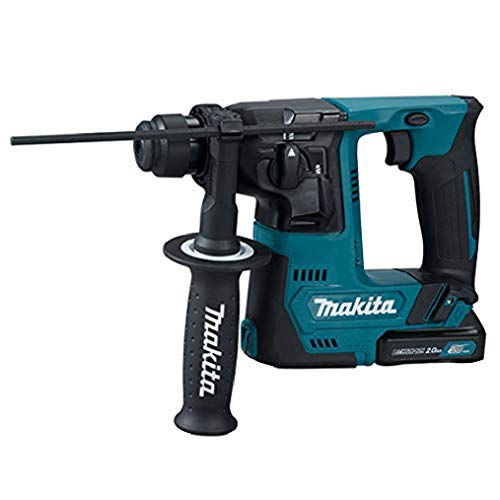 Makita 1 TASSELLATORE 10,8V 2x2Ah-14mm-SDS Plus compatibile-2FUNZ. -1J-Accessori, 10.8 V