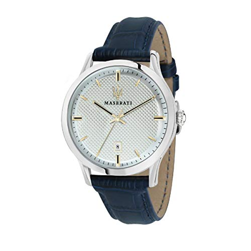 Orologio da uomo, Collezione RICORDO, in acciaio, cuoio - R8851125006