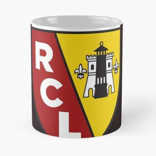 Rc Lens T-Shirt - Taza de café de cerámica de mármol blanco