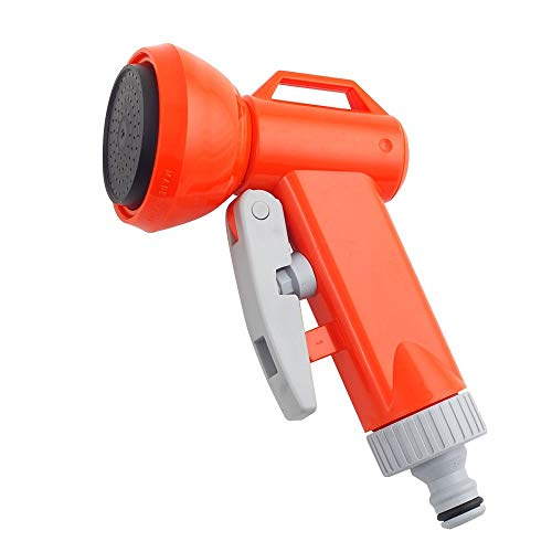 Siroflex Arrosoir Normal à Pistolet avec raccord en Blister, Orange/Gris